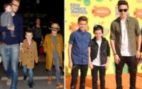 Cruz Beckham, Romeo Beckham, Brooklyn Beckham - Hollywood - 02-04-2015 - Figli delle stelle, non ci fermeremo per niente al mondo