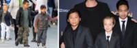 Shiloh Jolie-Pitt, Maddox Jolie Pitt, Pax Thien Jolie Pitt - Hollywood - 02-04-2015 - Figli delle stelle, non ci fermeremo per niente al mondo