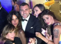 Christian Vieri, Belen Rodriguez, Nina Moric - Bebe Vio e Barack Obama: un'altra selfie-magia