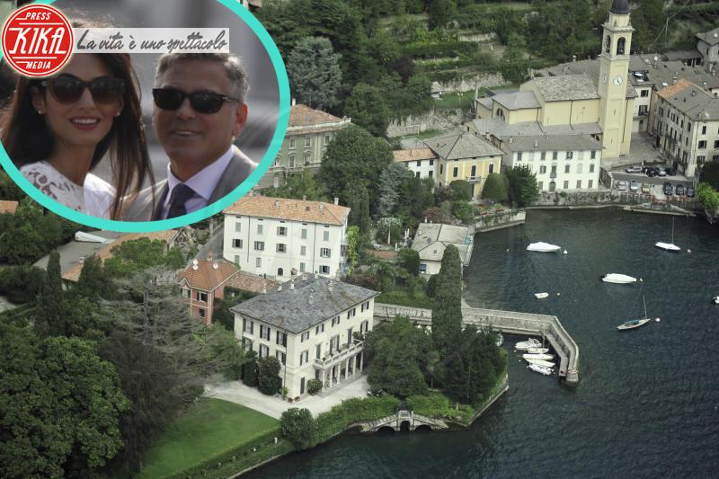Villa Oleandra, Amal Alamuddin, George Clooney - Laglio - 06-04-2015 - Clooney, multa per chi si avvicina a Villa Oleandra
