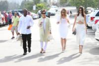 Corey Gamble, Kendall Jenner, Khloe Kardashian, Kris Jenner - Woodland Hills - 05-04-2015 - Pasquetta in bianco per il clan Kardashian