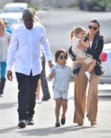 Penelope Disick, Mason Disick, Kourtney Kardashian - Los Angeles - 05-04-2015 - Pasquetta in bianco per il clan Kardashian