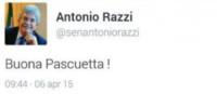 Antonio Razzi - Milano - 07-04-2015 - Contate fino a 100 o la gaffe è assicurata