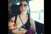 Alanis Morissette - Los Angeles - 07-04-2015 - Megan Gale & C, quelle che allattano sui social