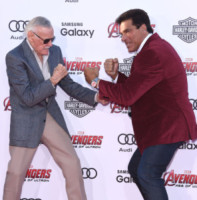 Stan Lee, Lou Ferrigno - Hollywood - 13-04-2015 - Stan Lee girerà ben tre cameo nei film Marvel