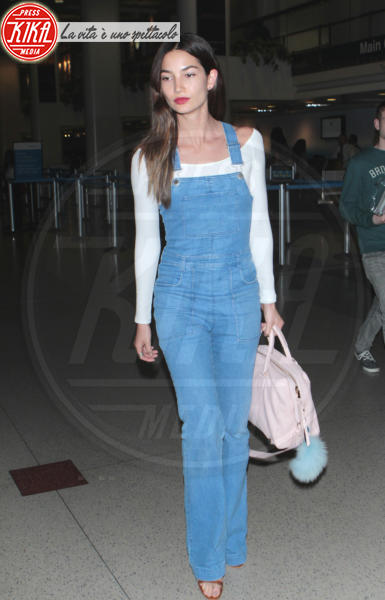 Lily Aldridge - Hollywood - 14-04-2015 - La salopette: dai cantieri ai salotti dello star system