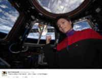 Samantha Cristoforetti - Spazio - 21-04-2015 - La vita nello spazio di Samantha Cristoforetti diventa un film