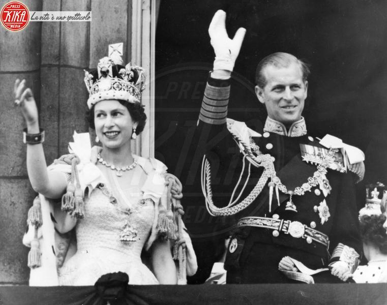 Regina Elisabetta II, Principe Filippo Duca di Edimburgo - Londra - 02-06-1953 - Dio salvi la regina: Elisabetta II compie 63 anni di regno