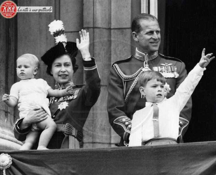 Principe Edoardo, Principe Andrea Duca di York, Regina Elisabetta II, Principe Filippo Duca di Edimburgo - Londra - 12-06-1965 - Dio salvi la regina: Elisabetta II compie 89 anni