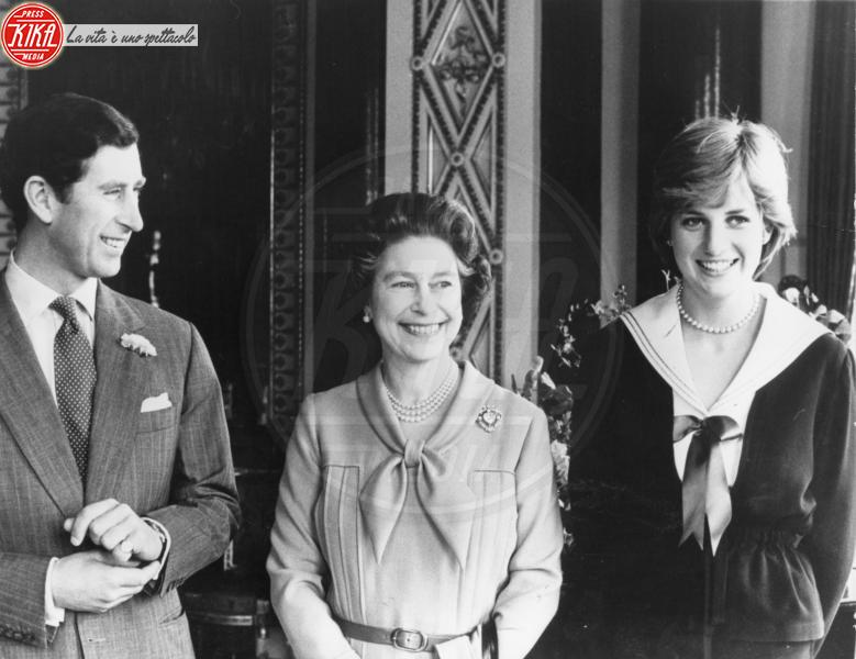 Principe Carlo d'Inghilterra, Regina Elisabetta II, Lady Diana - Londra - 27-03-1981 -