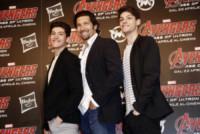 Elvis Nudo, Martin Carlos Nudo, Walter Nudo - Milano - 21-04-2015 - Festa del papà, i padri single dello star system