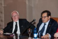 Michel Vauzelle, Rosario Crocetta - Palermo - 22-04-2015 - Crocetta-Vauzelle, la Sicilia incontra la Provenza