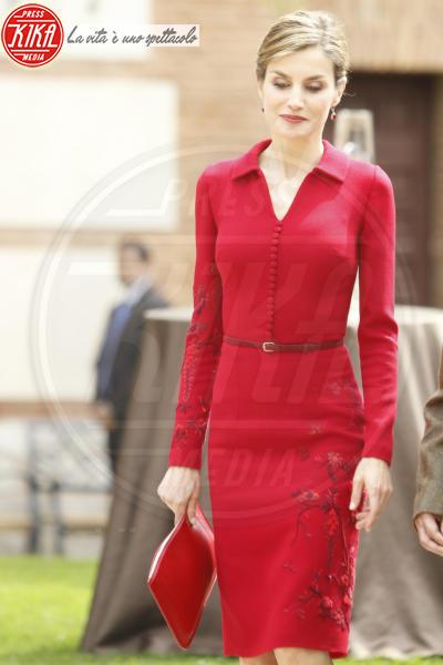 Letizia Ortiz - Madrid - 23-04-2015 - Vuoi essere vincente? Vestiti di rosso