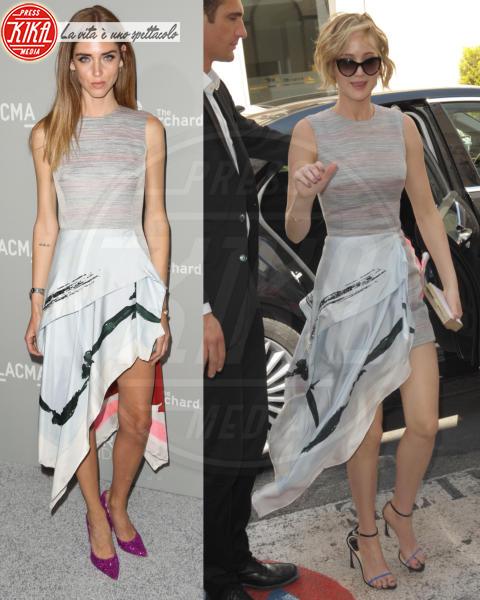 Chiara Ferragni e Jennifer Lawrence: chi lo indossa meglio?