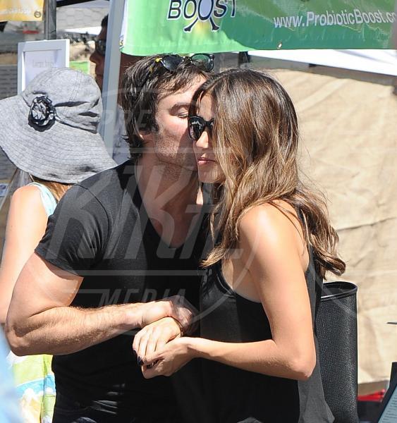 Ian Somerhalder, Nikki Reed - Los Angeles - 17-08-2014 - Fiocco rosa per Ian Somerhalder e Nikki Reed: benvenuta Soleil!