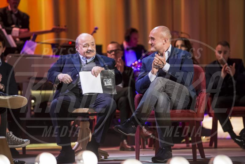 Maurizio Costanzo, Alfonso Signorini - Maurizio Costanzo Show - Roma - 01-05-2015 - Maurizio Costanzo Show: l'ultima puntata