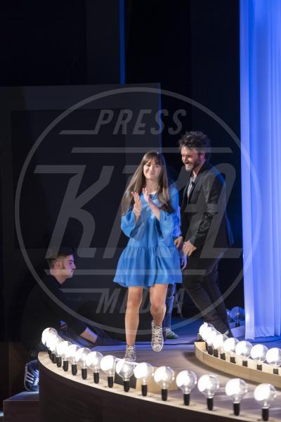 Patrizia Neviani, Filippo Neviani, Nek - Maurizio Costanzo Show - Roma - 01-05-2015 - Maurizio Costanzo Show: l'ultima puntata