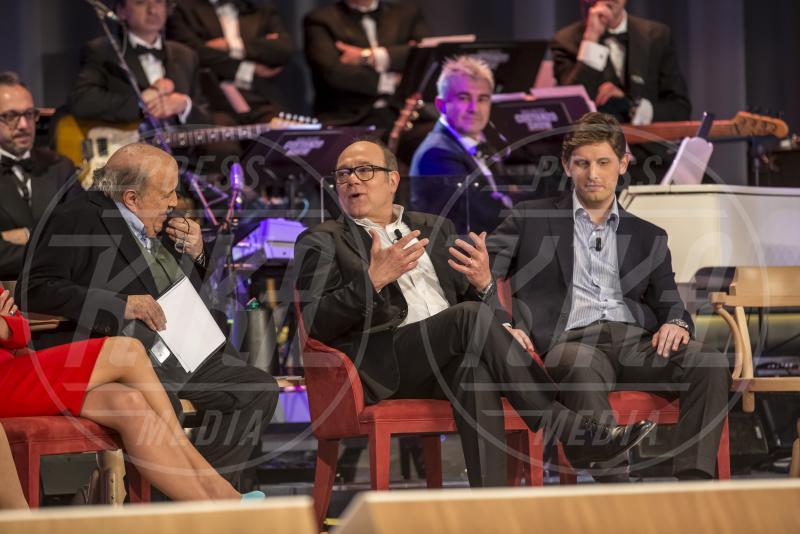 Maurizio Costanzo, Carlo Verdone - Maurizio Costanzo Show - Roma - 01-05-2015 - Maurizio Costanzo Show: l'ultima puntata