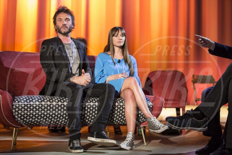 Patrizia Neviani, Maurizio Costanzo, Nek - Maurizio Costanzo Show - Roma - 01-05-2015 - Maurizio Costanzo Show: l'ultima puntata