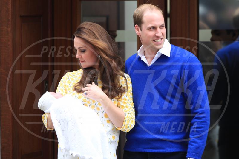 Principessa Charlotte Elizabeth Diana, Prince William, Catherine, Principe William, Kate Middleton - Londra - 02-05-2015 - William e Kate mostrano al mondo la #RoyalBaby