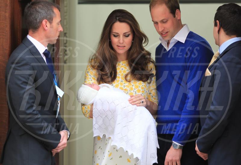 Principessa Charlotte Elizabeth Diana, Prince William, Princess, Catherine, Principe William, Kate Middleton - Londra - 02-05-2015 - William e Kate mostrano al mondo la #RoyalBaby