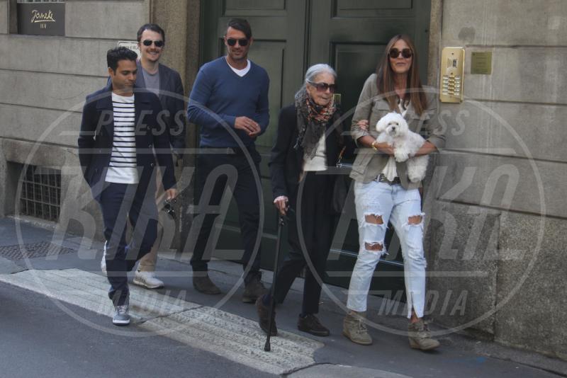 Adriana Fossa, Paolo Maldini - Milano - 02-05-2015 - Adriana Fossa e Paolo Maldini, un amore che dura da 28 anni