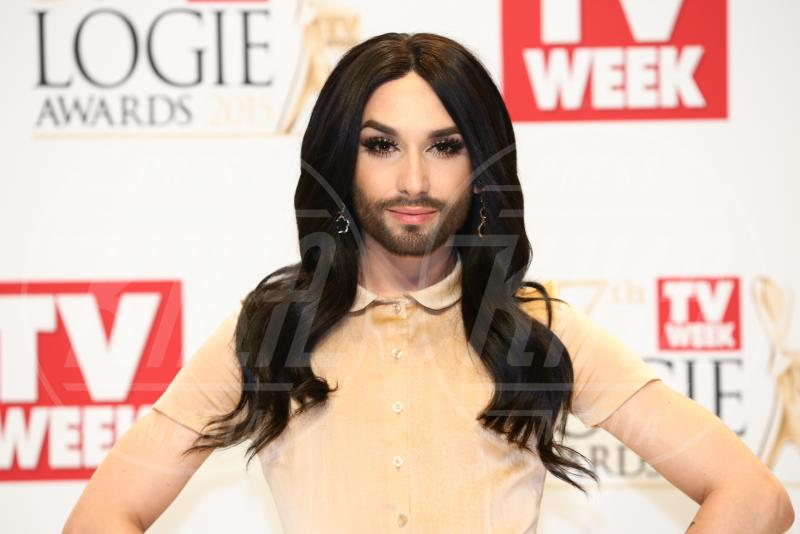 Conchita Wurst - Melbourne - 03-05-2015 - Valentina Sampaio: la prima transgender su Vogue Paris