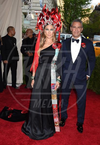 Andy Cohen, Sarah Jessica Parker - New York - 04-05-2015 - Met Gala 2015: il red carpet più glamour dell'anno