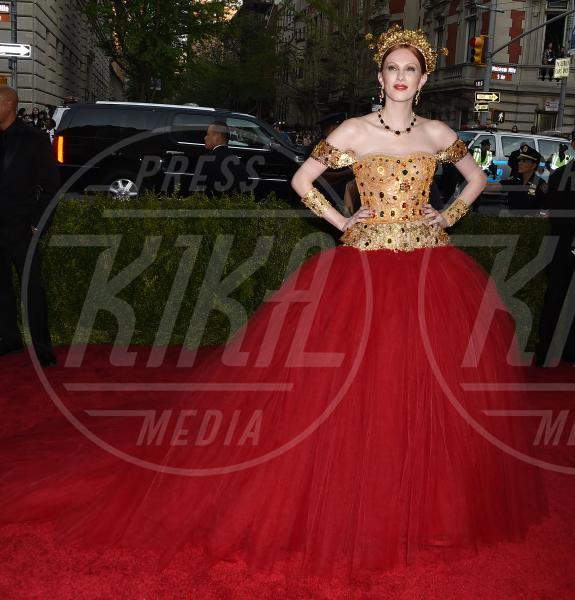 Karen Elson - New York - 04-05-2015 - Met Gala 2015: il red carpet più glamour dell'anno