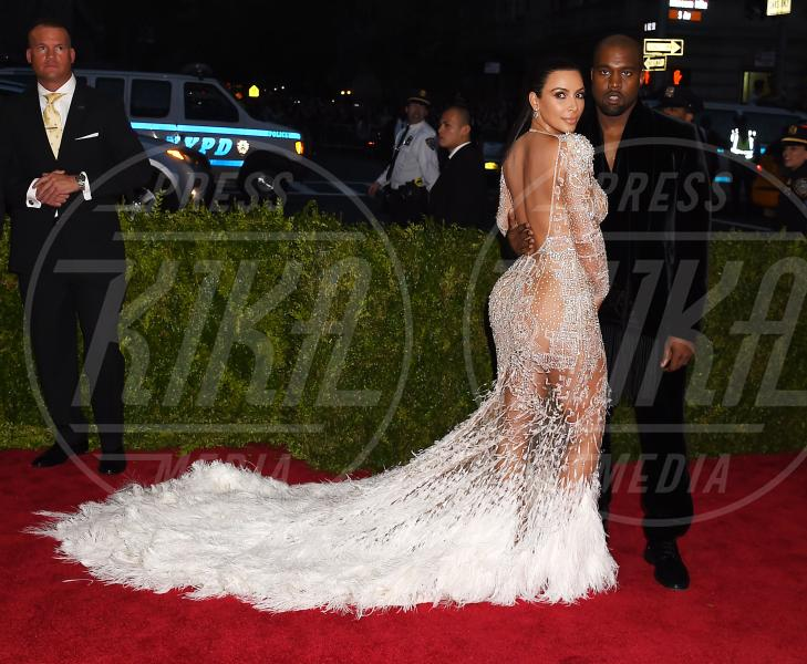 Kim Kardashian, Kanye West - New York - 04-05-2015 - Met Gala 2015: Vade retro abito! Le star scelgono il nude look