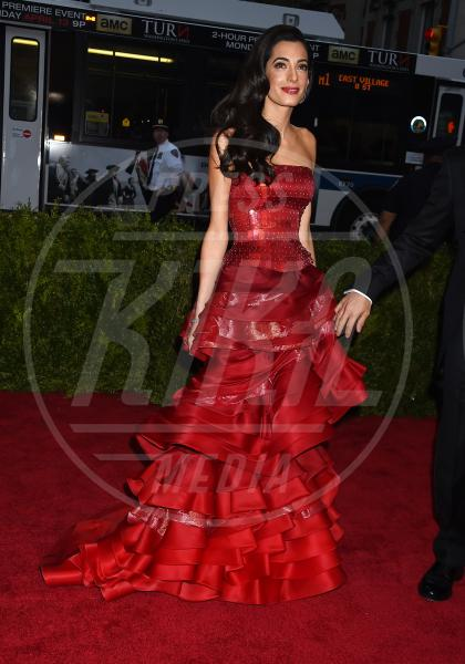 Amal Alamuddin - New York - 04-05-2015 - Met Gala 2015: il red carpet più glamour dell'anno
