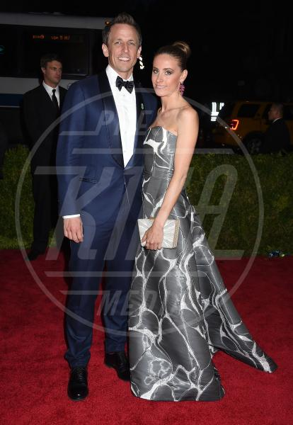Alexi Ashe, Seth Meyers - New York - 04-05-2015 - Met Gala 2015: il red carpet più glamour dell'anno