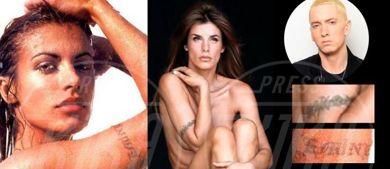 Elisabetta Canalis - 02-01-2015 - Tatuaggi: se ci lasciamo lo cancello!