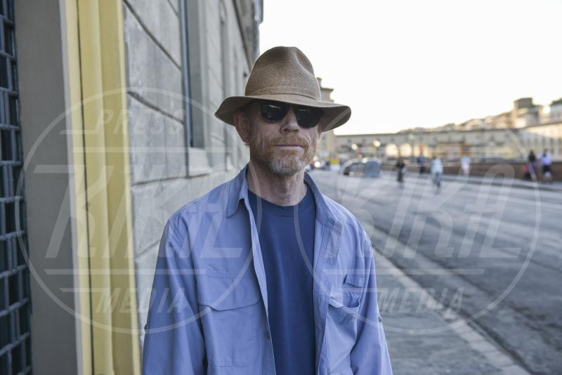 set Inferno, Ron Howard - Firenze - 07-05-2015 - Ron Howard, il prossimo film si chiamerà The Girl Before