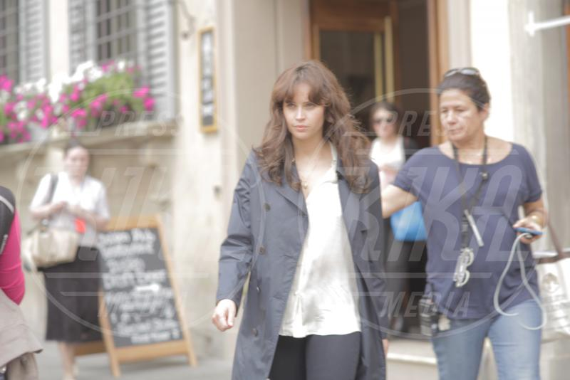 Felicity Jones - Firenze - 08-05-2015 - Felicity Jones scende all'Inferno con Tom Hanks