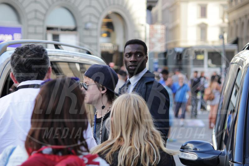 Omar Sy - Firenze - 08-05-2015 - Felicity Jones scende all'Inferno con Tom Hanks