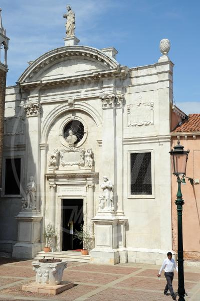 Santa Maria della Misericordia, The Mosque, moschea - Venezia - 09-05-2015 - Venezia: chiesa trasformata in moschea
