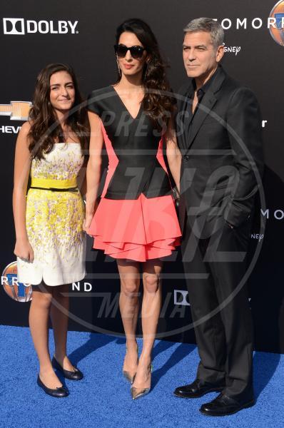 Mia Alamuddin, Amal Alamuddin, George Clooney - Los Angeles - 09-05-2015 - Amal Clooney si è lasciata il sorriso alle spalle...