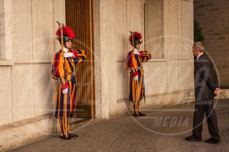 Guardie Svizzere - Città del Vaticano - 10-05-2015 - Papa Francesco apre le porte del Vaticano a Raul Castro