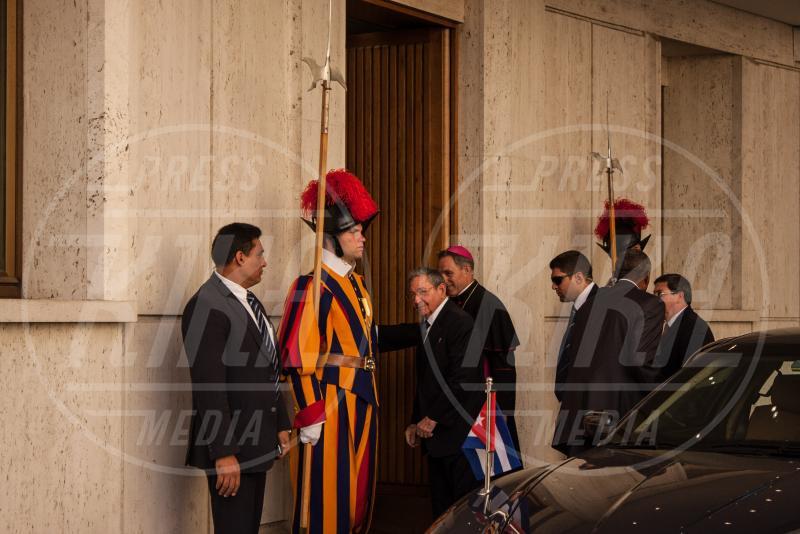Raul Castro - Città del Vaticano - 10-05-2015 - Papa Francesco apre le porte del Vaticano a Raul Castro