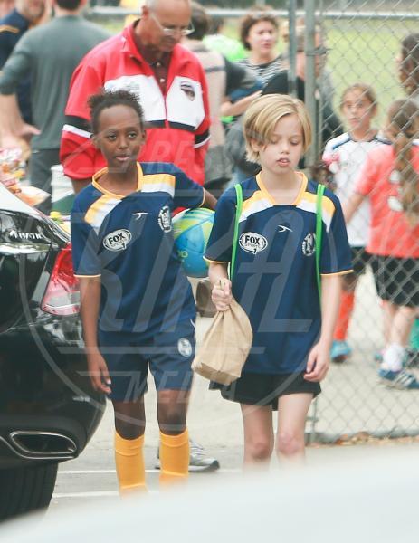 Shiloh Jolie Pitt, Zahara Jolie Pitt - Los Angeles - 09-05-2015 - Da Noah Green a Shiloh Nouvel: i bambini no gender dello showbiz
