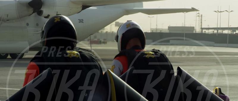 Vince Reffet, Yves Rossy - Dubai - 13-05-2015 - L'uomo può volare, parola di Yves Rossy e Vince Reffet