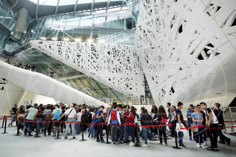 Palazzo Italia, Expo 2015, Padiglione Italia - Milano - 05-05-2015 - Expo 2015: ecco il Padiglione Italia e l'Albero della Vita