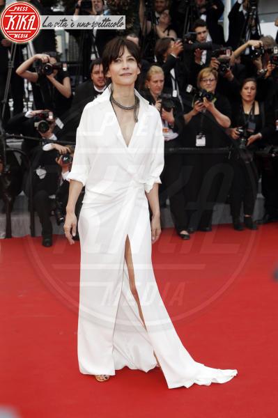 Sophie Marceau - Cannes - 14-05-2015 - In primavera ed estate, le celebrity vanno in bianco!