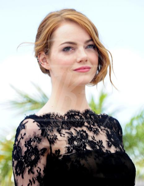 Emma Stone - Cannes - 15-05-2015 - Pizzo nero, un classico sul tappeto rosso