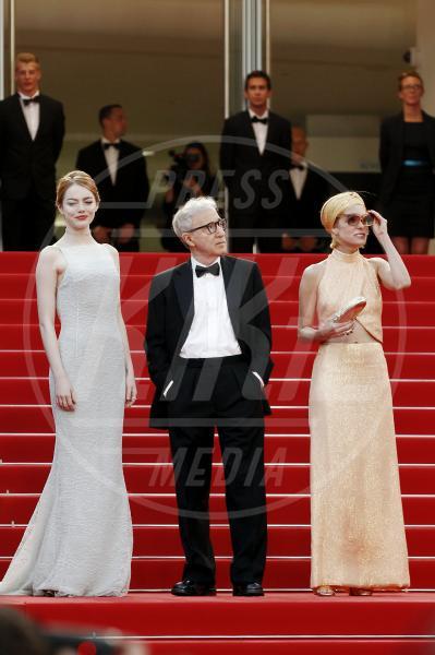 Emma Stone, Parker Posey, Woody Allen - Cannes - 15-05-2015 - Crisis in Six Scenes, la serie diretta da Woody Allen per Amazon