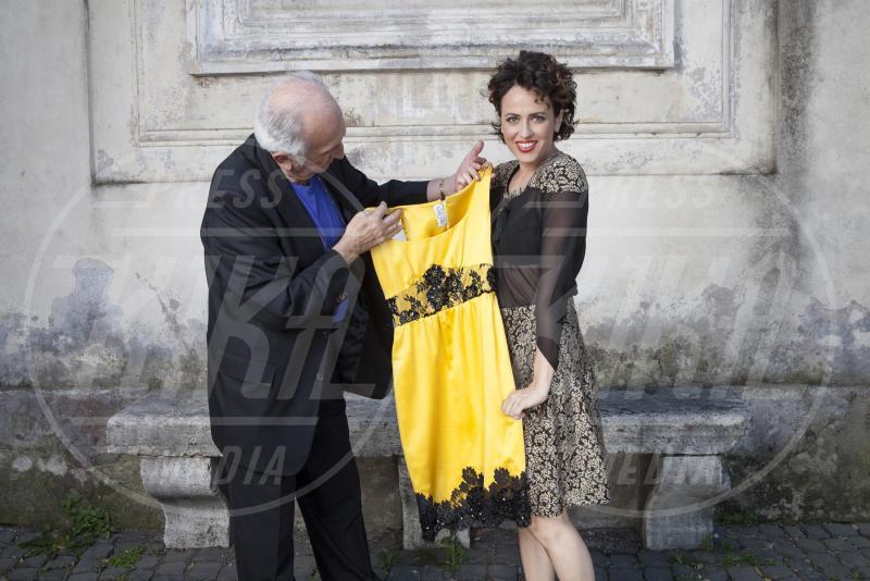 Tarcisio Zoffoli, Marta Zoffoli - Roma - 07-05-2015 - Marta Zoffoli, la regina delle fiction, ci presenta il papà