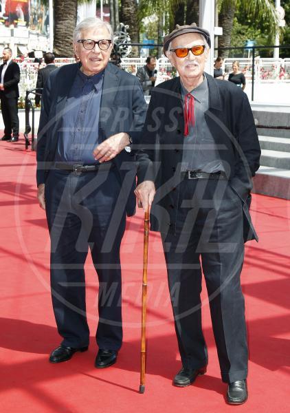 Fratelli Taviani, Paolo Taviani, Vittorio Taviani - Cannes - 17-05-2015 - Lutto nel mondo del cinema: morto il regista Vittorio Taviani