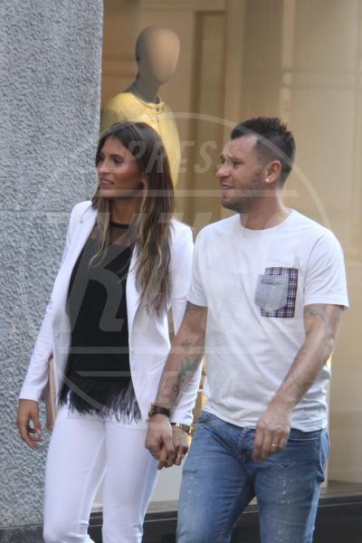 Carolina Marcialis, Antonio Cassano - Milano - 18-05-2015 - Star come noi: la coppia ha bisogno dei suoi spazi