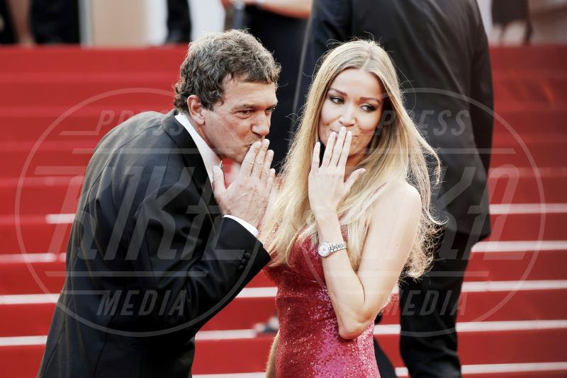 Nicole Kimpel, Antonio Banderas - Cannes - 19-05-2015 - Antonio Banderas ricoverato d'urgenza: paura per l'attore